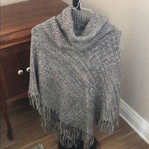 Charlotte Russe Knitted Poncho